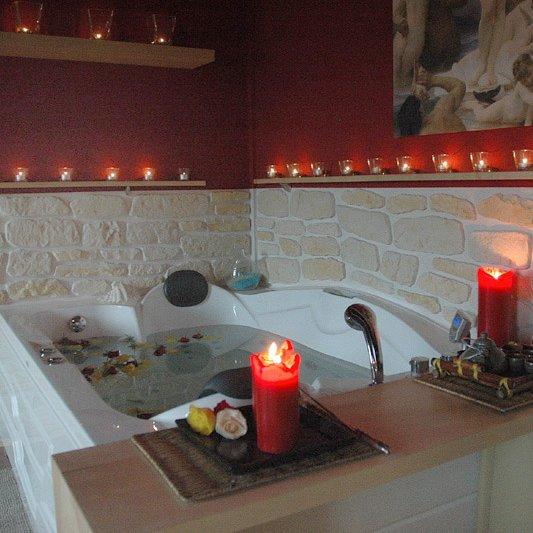 wellness interiéry umělý kámen obkladv interieru stěny